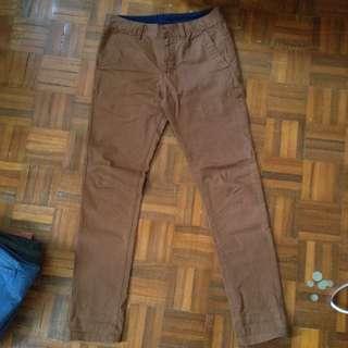 Brown Long Pants🌰