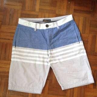 Blue & Grey Shorts 🔵