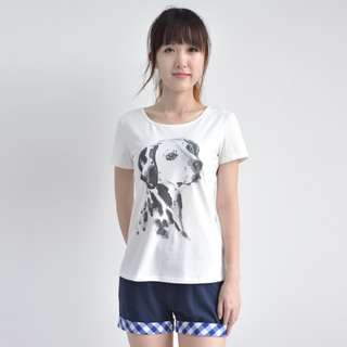 Dalmation dog watercolour print T-shirt (high quality!)