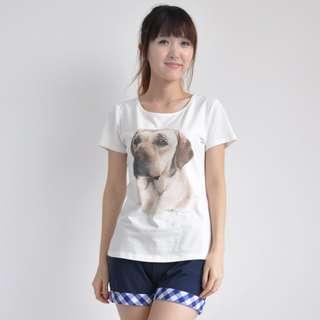 Labrador Retriever dog watercolour print T-shirt ( high quality!)