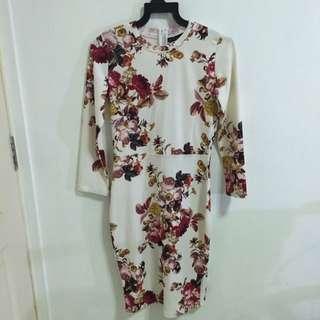 Zara Midi Floral Dress (inspired)