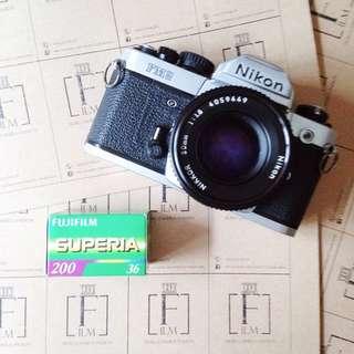 Nikon FM2 + 50 Mm F1.8