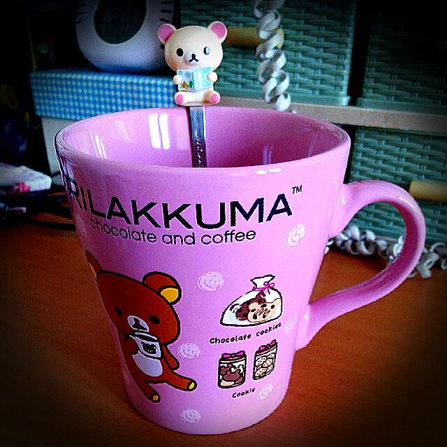 拉拉熊~甜蜜巧克力咖啡馬克杯