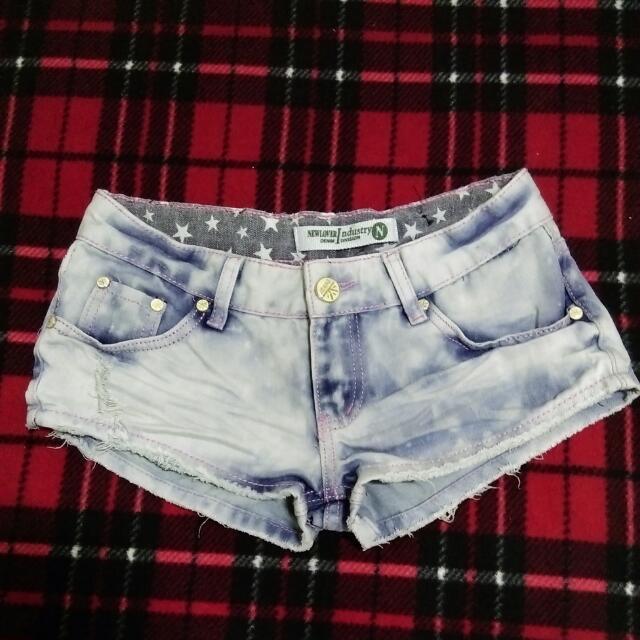 💛全新 牛仔短褲(S)