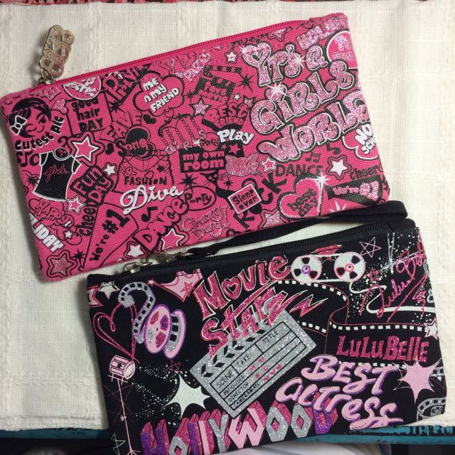 Brand New Pencil Case/Cosmetic Pouch From Lulu Belle