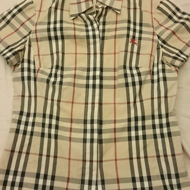Burberry經典格紋襯衫