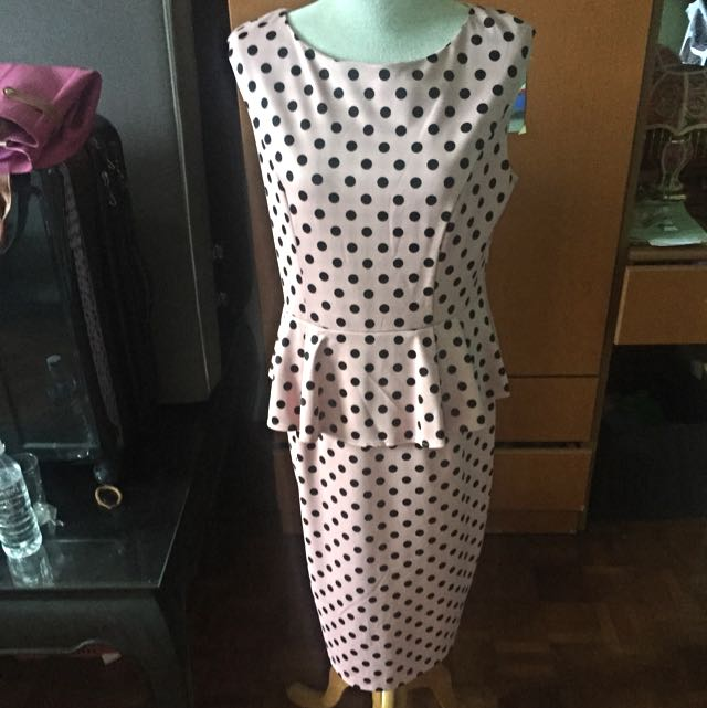 Doublewoot Peplum Dress Size XXL