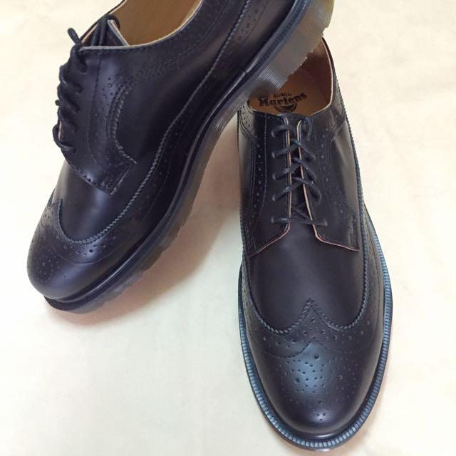 Dr.martens 3989 黑色 雕花 馬汀 馬丁 靴子 鞋子