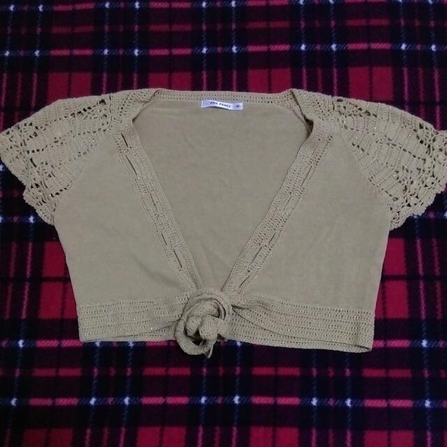 💛(二手)正品專櫃衣Five Pence 針織小外套
