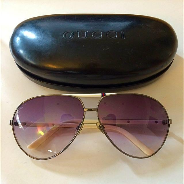 a7bb9c73674 Gucci GG 1933 S Aviator Sunglasses -Authentic