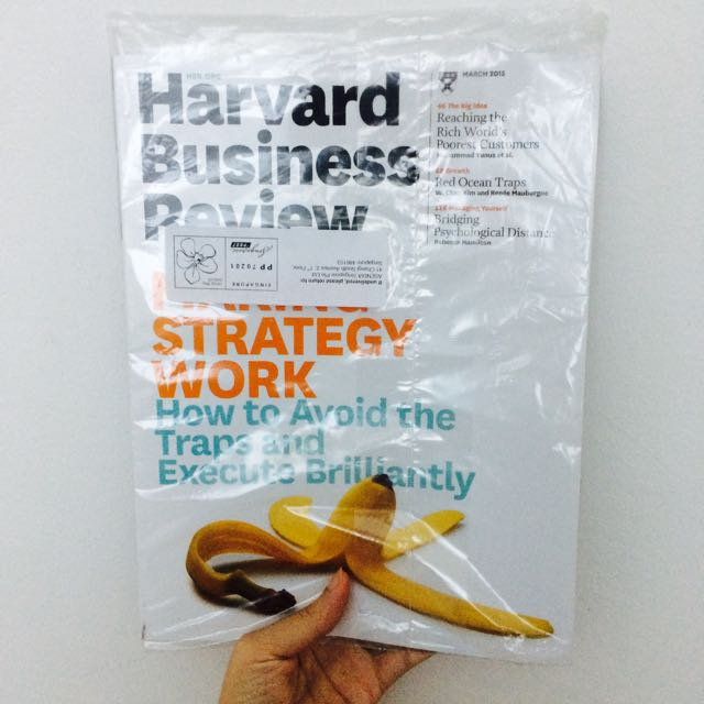 Harvard Business Review: Making Strategy Work - How To Avoid The Traps And Execute Brilliantly