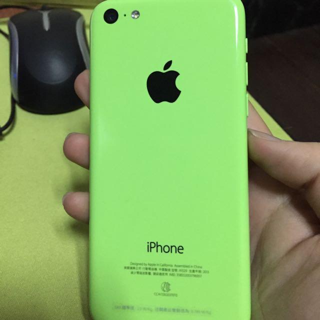 iPhone  5C 綠色