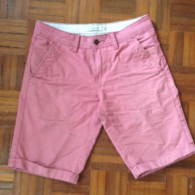 Pastel Red Shorts 🔴