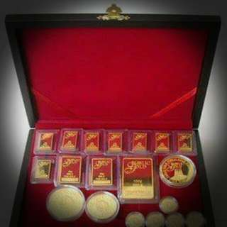 Gold Bar & Gold coins Collection
