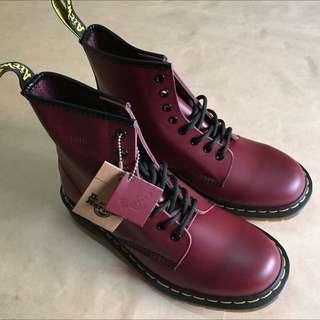 Dr.martens 1460櫻桃紅8孔 馬丁馬汀 靴子 鞋子