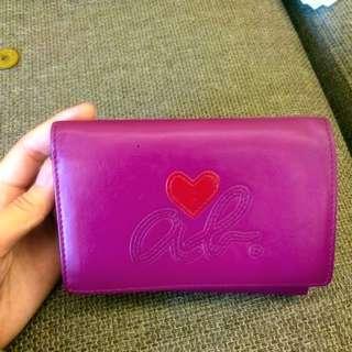 again b.紫紅色錢包