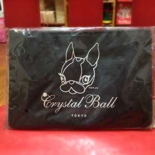 Crystal Ball 聯名 化妝包+零錢包 全新絕版品