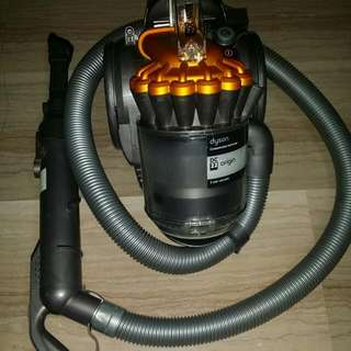 Pre Loved Dyson 22 Vacuum cleaner with Extra Filter And 8 Adapters
