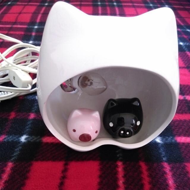 💚小豬桌燈/床頭燈