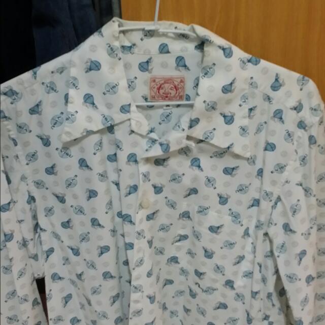 Evisu長襯衫