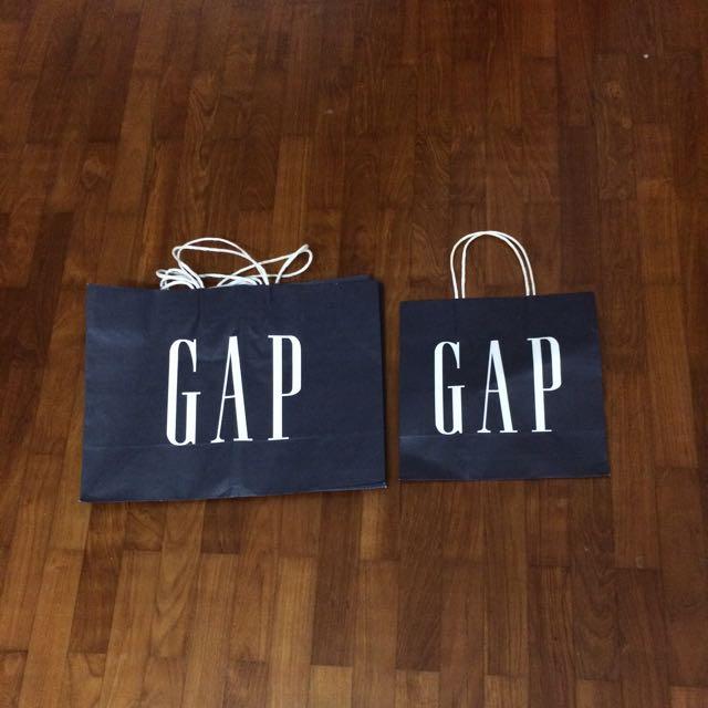 GAP paper bag