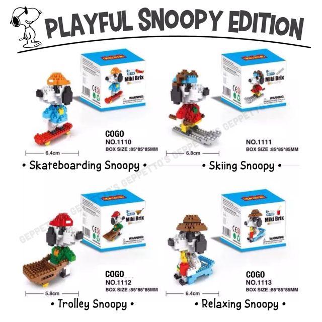 Nanoblock Snoopy
