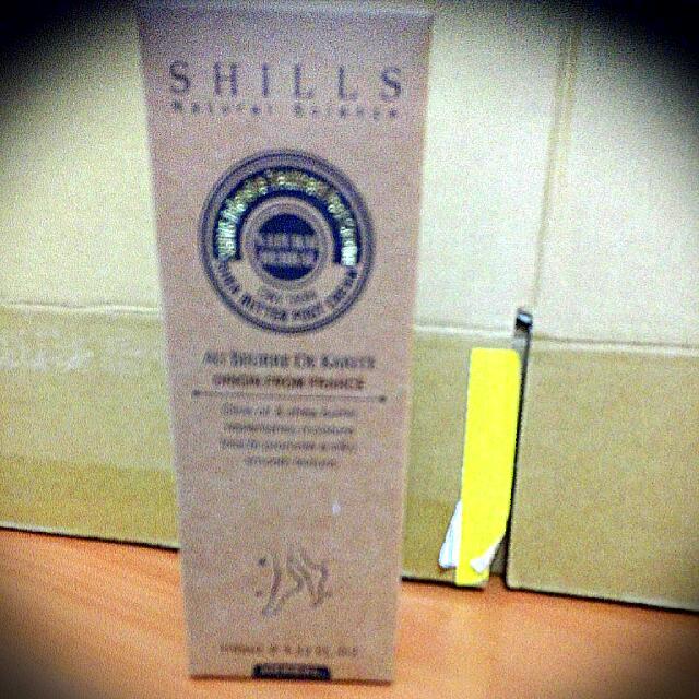 SHILLS乳油木潤澤修護足霜