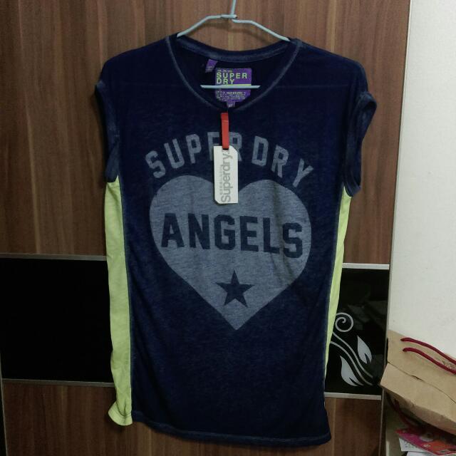 澳洲代購回正superdry涼感T恤