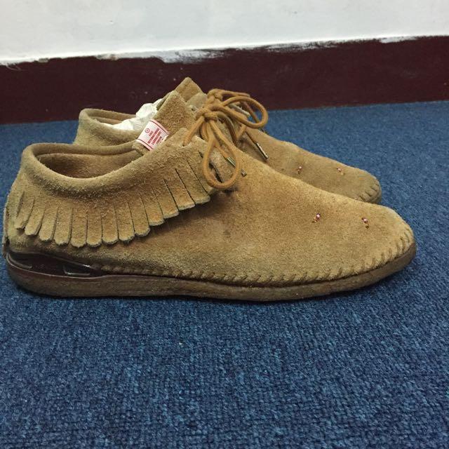 VISVIM MALISEET SHAMAN FOLK F.I.L. 民俗風 咖啡色 生膠 短 靴 鞋 保證真品