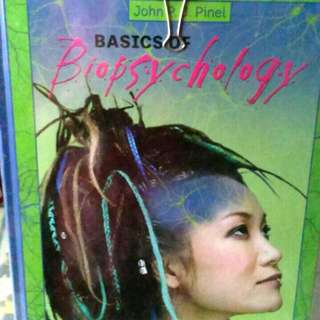 Basics Of Biopsycology Hardcover By Pinel. John P. J. (2006)