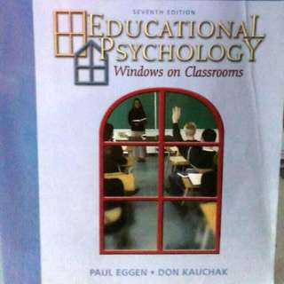 Educational Psychology: Windows Of Classrooms By Paul D. Eggen (7th Ed)