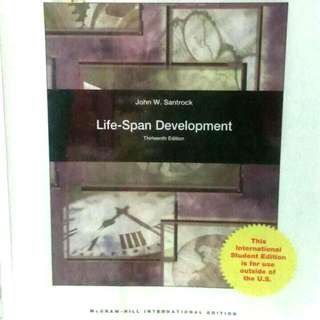 Life-Span Development By John W. Santrock (12th Ed)