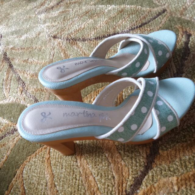 BN Martina Pink Mint Heels