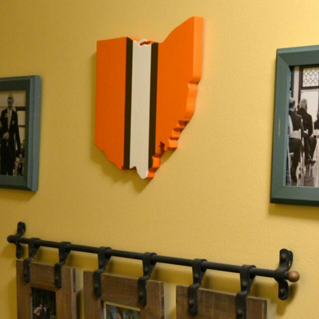 Cleveland Browns Wall Art, Design & Craft on Carousell