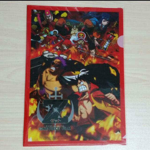 Onepiece Film Z File A4 Size Entertainment J Pop On Carousell