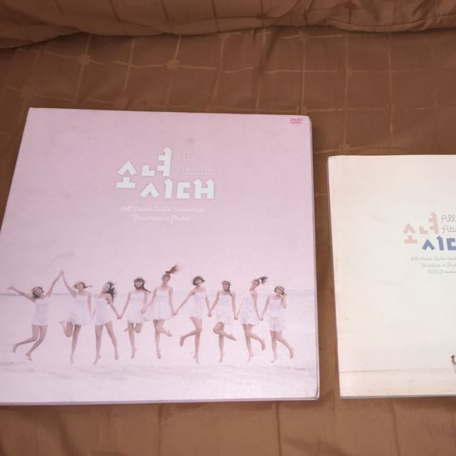 Snsd Phuket 2 In 1 Set Preview Book And Dvd Set Entertainment K
