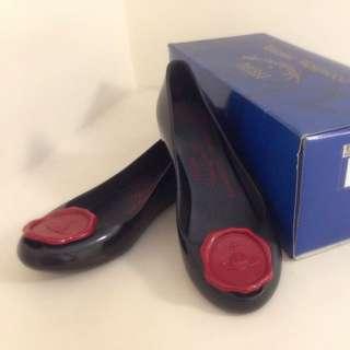 《降》Vivienne Westwood X Melissa 內增高雨鞋