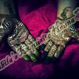 Henna For Brides , Engagements & All Occasions