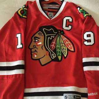 NHL Chicago Blackhawks Jonathan Toews Jersey #19