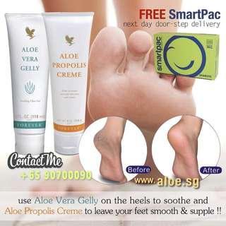 Aloe Vera For Cracked Heels & Feet