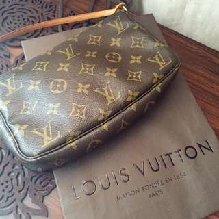 Authentic LV Pochette (pre-loved)