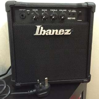 Electric Guitar Amplifier Ibanez IBZ10G
