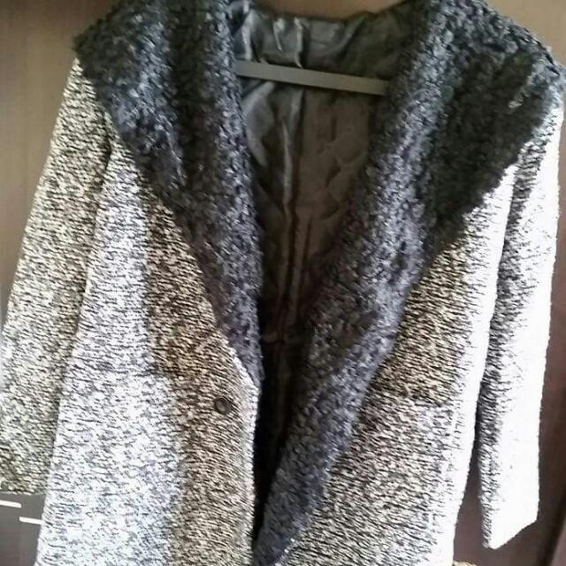 小茉莉韓組🌸毛尼混毛大衣