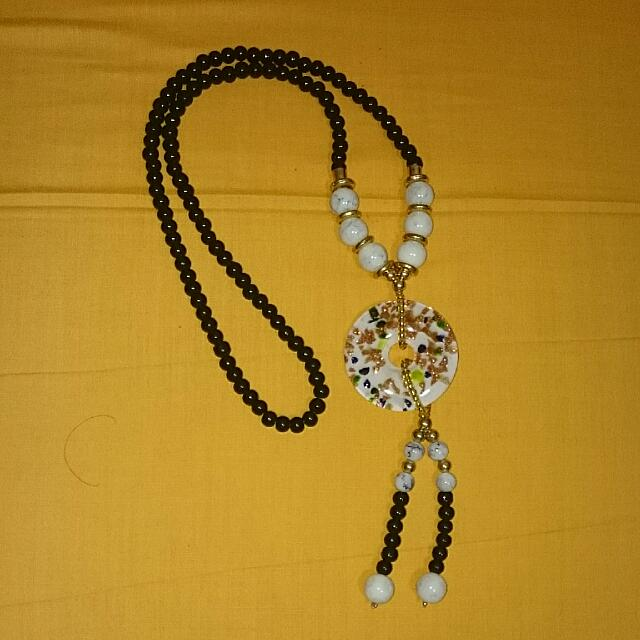 BN BEADED NECKLACE 008