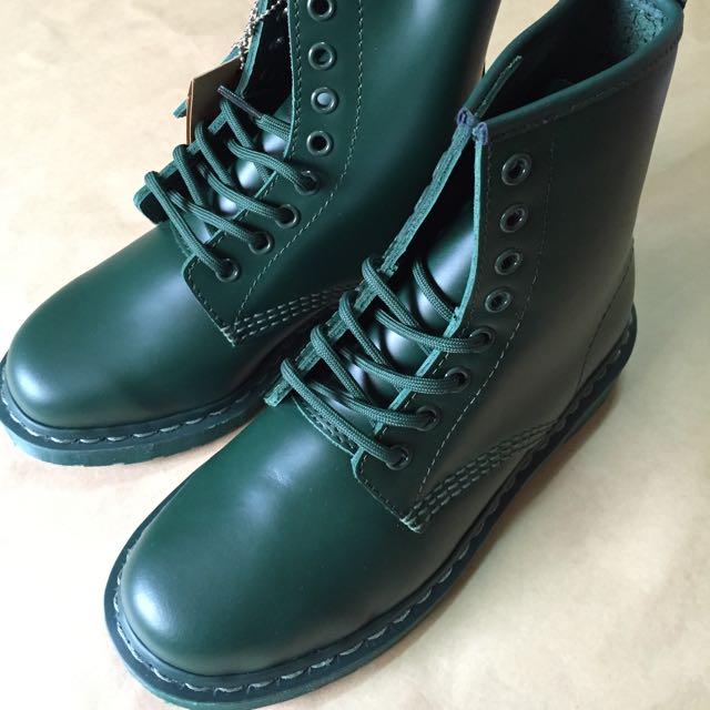 Dr.martens 1460 綠色 8孔 馬丁 馬汀 靴子 鞋