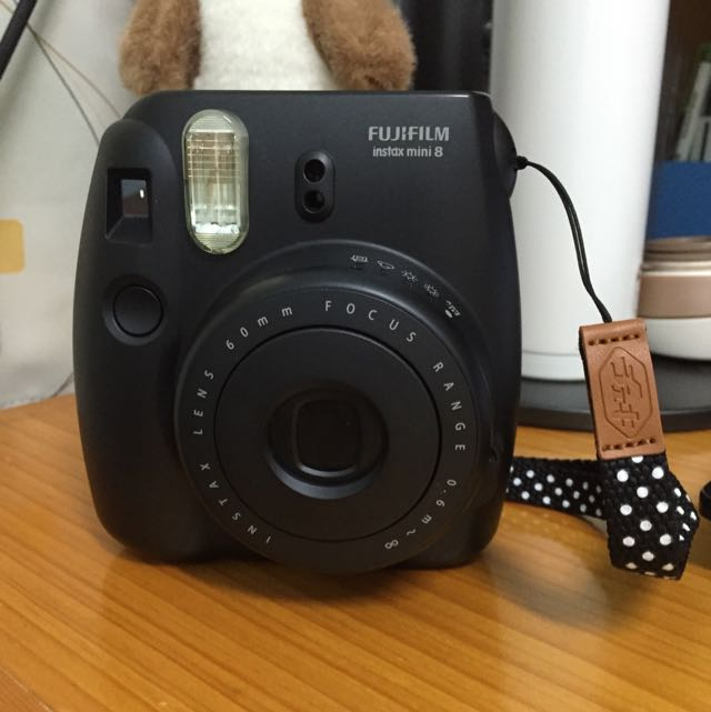 Fujifilm Insta Mini8😘😘+底片+防塵帶+自拍鏡