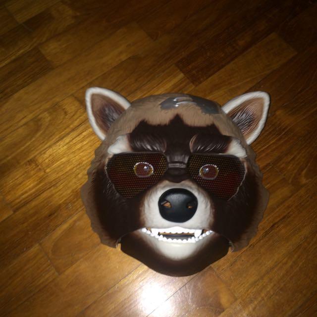 Guardians of the galaxy rocket raccoon mask