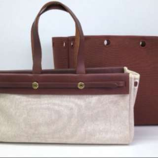 Hermes Cabas Mm 100% Authentic