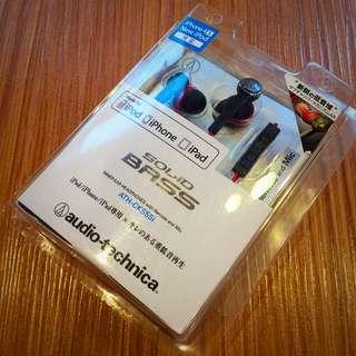 鐵三角 ATH-CKS55i iPod/iPhone/iPad 專用耳塞式耳機