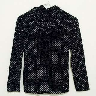 Polka Dot Turtle Neck